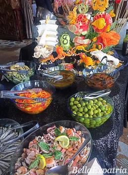 Gaia by Oro Ristorante's buffet spread