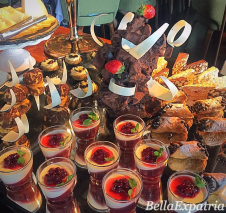dessert spread at Gaia_wm