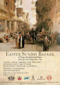 Easter Sunday Bazaar at Tugu Kunstkring Paleis