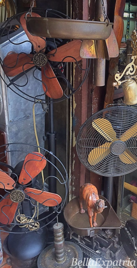 Old but working GE electric fans