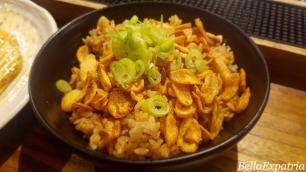 Teppanyaki garlic rice