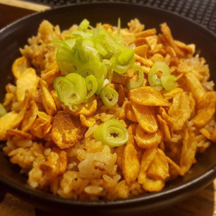 Teppanyaki garlic rice