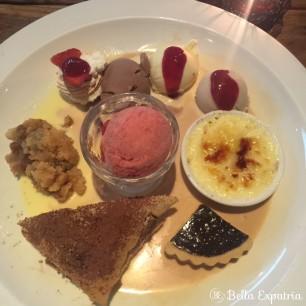 Koi's dessert sampler